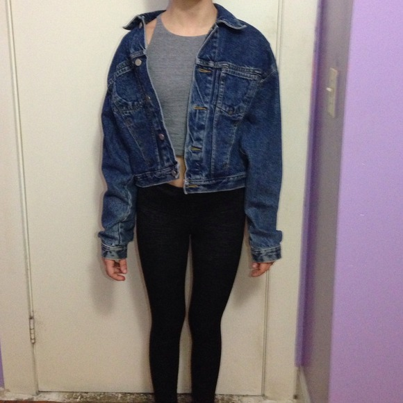 Vintage jean jacket from jacqueline's closet on poshmark