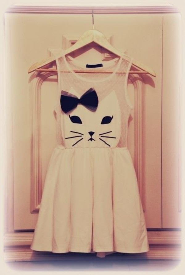dress cats cats kittycat bow tutu