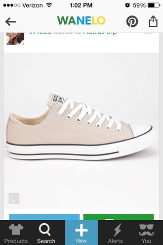 shoes tan beige converse converse shoes i need these so bad