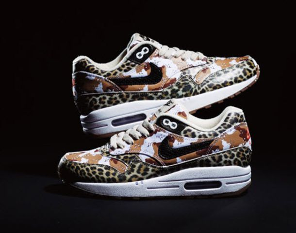 shoes nike leopard brown sneakers airmax leopard print camouflage camo