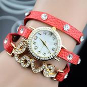 jewels,fashion,watch,jewelry,red,white,new,cool,girl,cute,women,preppy,beautiful