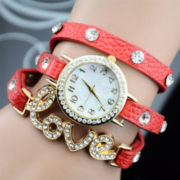 Jewels: fashion, watch, jewelry, red, white, new, cool ...