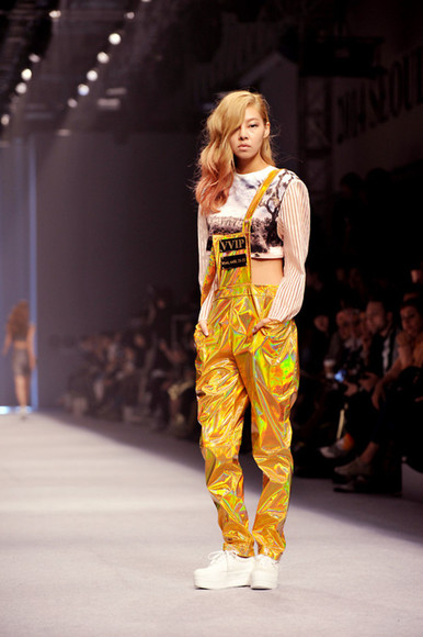 streetstyle grunge pants korean fashion