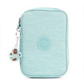 bag,light blue kipling 100 pens  case
