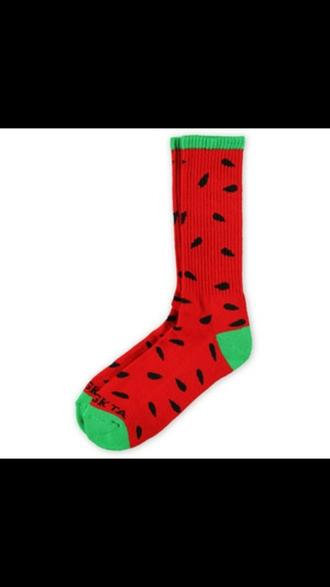 socks odd future red