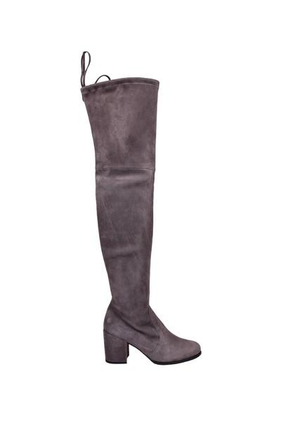 STUART WEITZMAN grey shoes