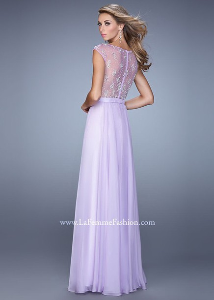 dress prom dress lavender dress