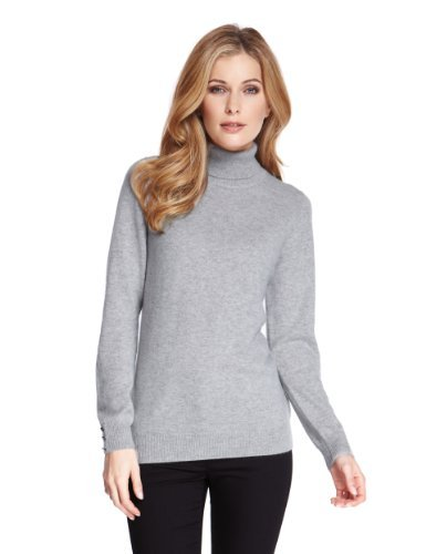 M&S Collection Pure Cashmere Roll Neck Jumper-Marks & Spencer