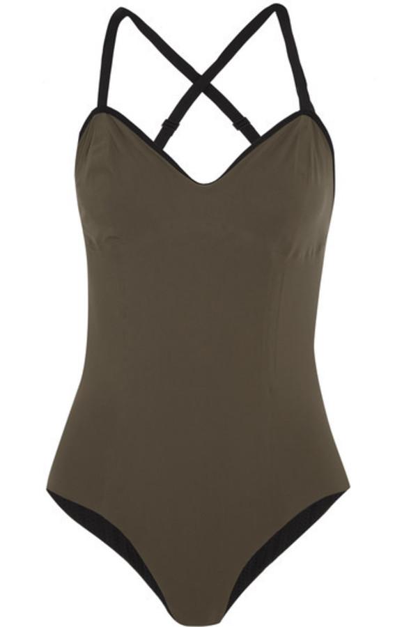 e381c8803f Ward Whillas - Beaumont Reversible Cutout Swimsuit - Black. $325$130