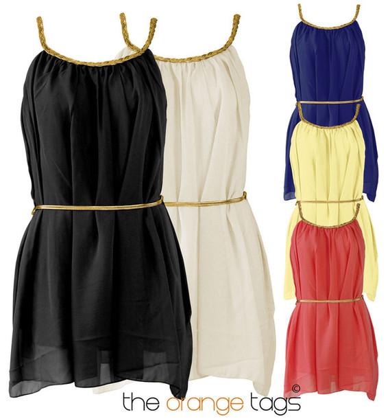 Short Goddess Dress