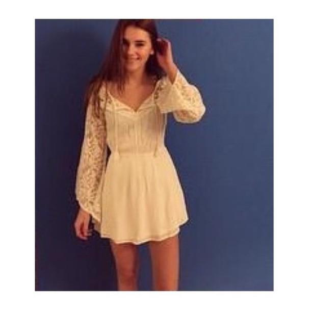 dress stefanie giesinger stefanie topmodel in germany white dress summer dress cute dress