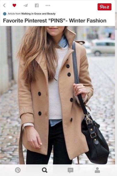 coat camel coat winter coat