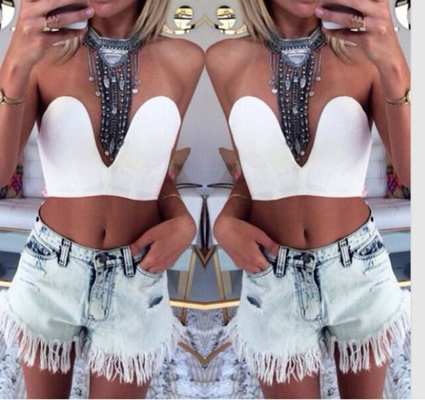 top shorts jewels