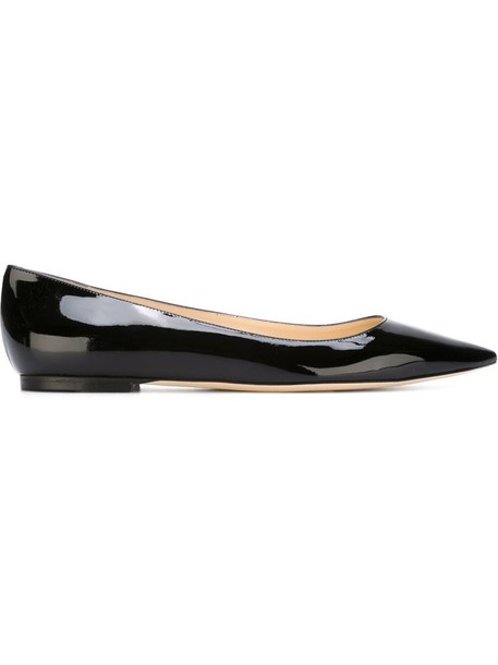 Jimmy Choo women leather black shoes