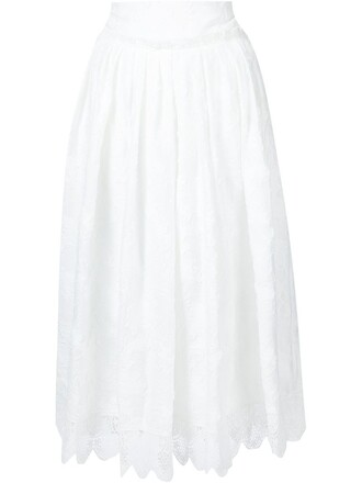 skirt women white