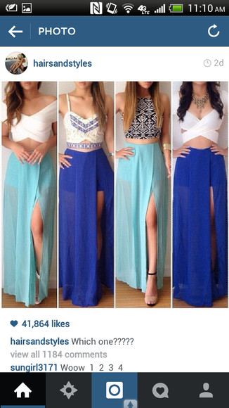 skirt maxi skirt slit skirt pretty skirts trendy outfit