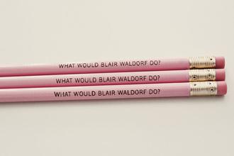 nail polish pencils blair waldorf