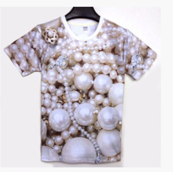 pearls t-shirt shirt cool shirts