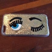 phone cover,wink glitter