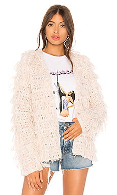 Lovers   Friends Shaggy Sweater in Tan from Revolve.com