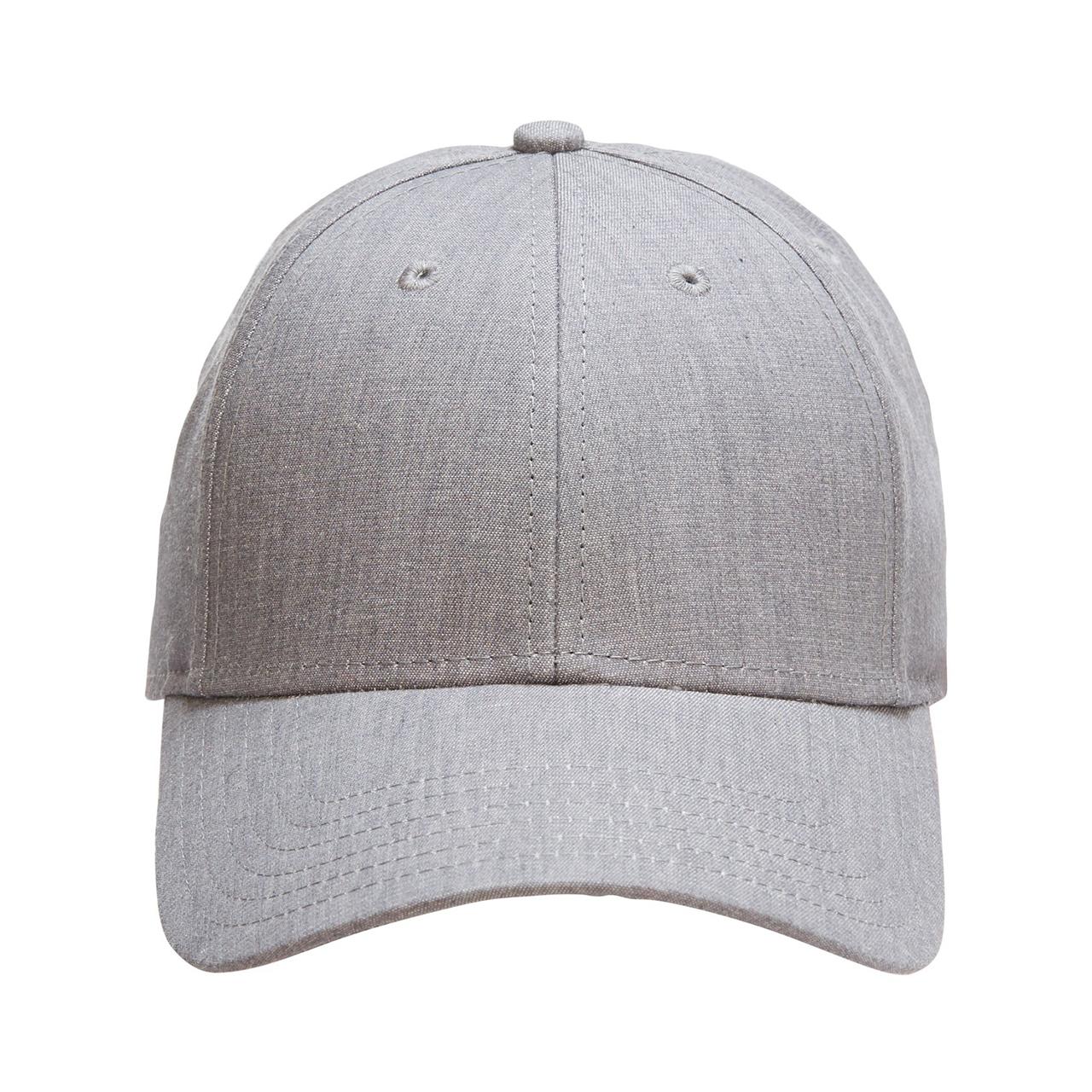 Grey Denim Baseball Cap 17aa1da9962