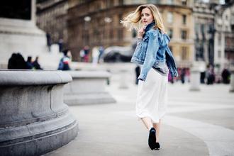 framboise fashion blogger denim jacket