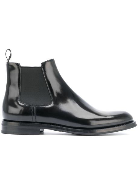 Church's women chelsea boots leather black shoes