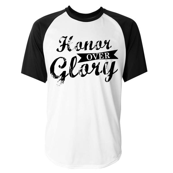 Honor Over Glory Baseball Tshirt