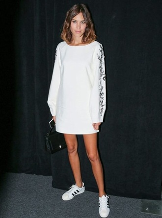 dress alexa chung white white dress white t-shirt summer dress summer outfits summer top summer hipster high heels cool lovely pepa black dress boho dress