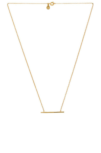 necklace metallic gold