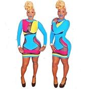 dress,multicolor,kaoir,bodycon,spandex bandeau,bodycon dress