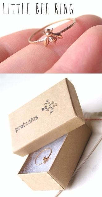 jewels little bee ring gold ring ring gold