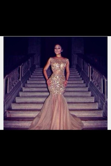 dress sequin 2014 prom dresses