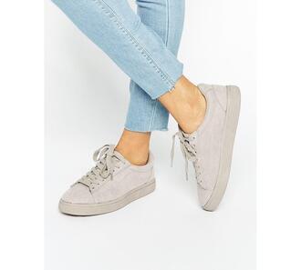 shoes suede suede sneakers suede shoes sneakers flats trainers