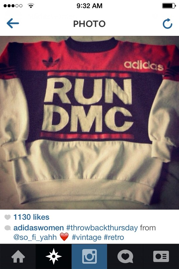 shirt run dmc crewneck sweater