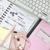 home accessory,yeah bunny,pink,stickers,pastel,dog,keyboard,notebook,fitness,apple,iphone