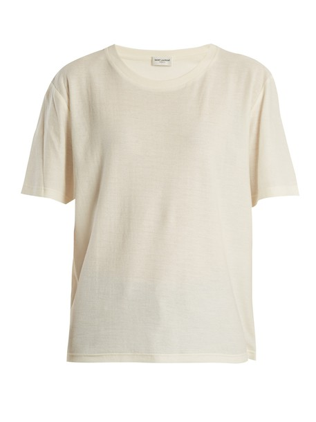Saint Laurent t-shirt shirt t-shirt cotton top