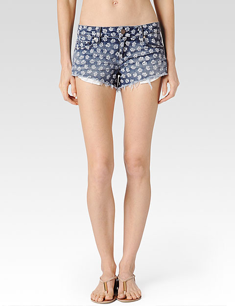 Echo Park Short / White Rose | Paige USA