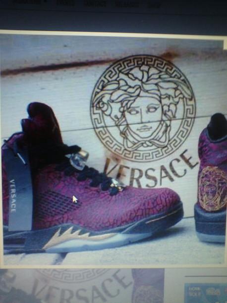 shoes air jordan versace