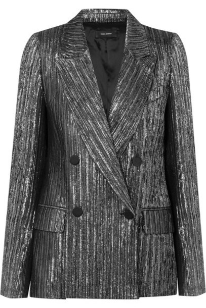 Isabel Marant blazer silver jacket
