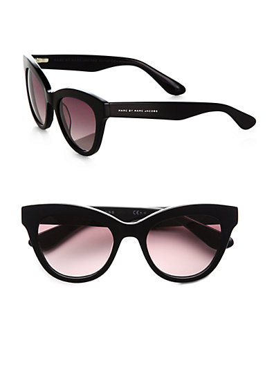 Marc by Marc Jacobs - Cat's-Eye Acetate Sunglasses - Saks.com