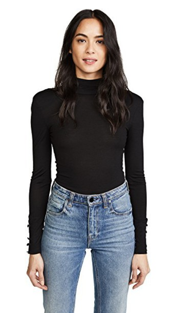 Nicholas top backless top backless black