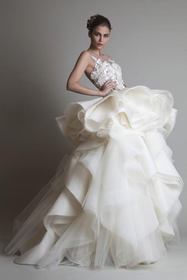 wedding dress wedding gowns dress 2014 folowes tulle wedding dress dress