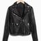 & other stories | biker leather jacket | black