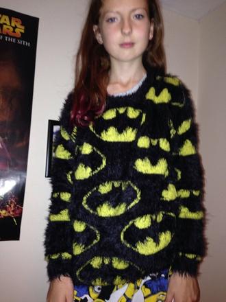 cardigan fluffy soft batman cardigan e