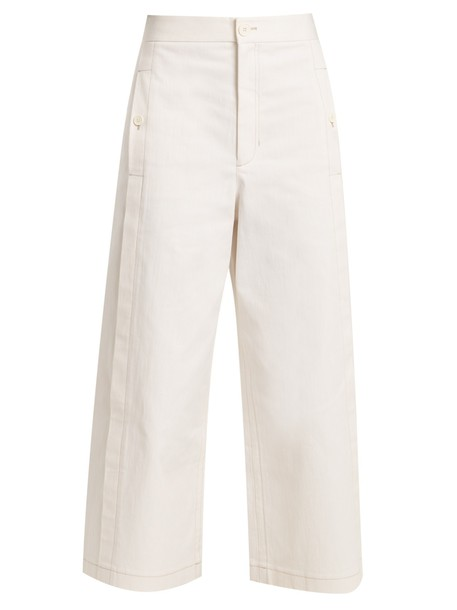 Helmut Lang jeans cropped jeans cropped high