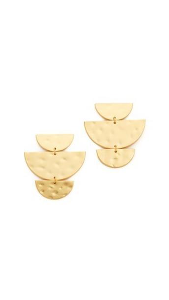 Gorjana Uma Drop Stud Earrings - Gold