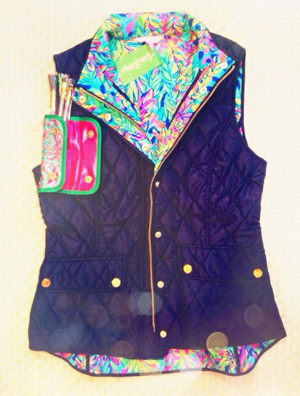 cardigan vest color/pattern grunge