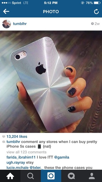 phone cover phone case iphone silver iphone 6 iphone case 3d shiny iphone cover