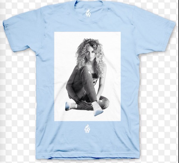 shirt shakira columbia 11s blue